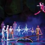 Cirque du Soleil shows på The Strip i Vegas